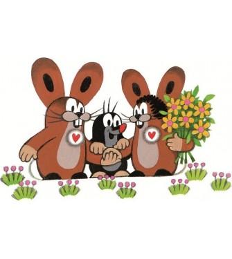 Krtko a zajac 01